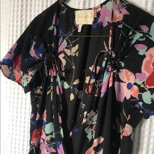 Yumi Kim Floral Wrap Dress